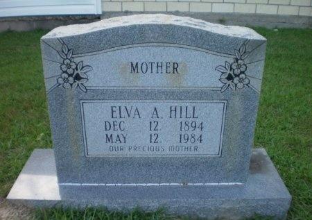 HILL, ELVA A. - Ashley County, Arkansas | ELVA A. HILL - Arkansas Gravestone Photos