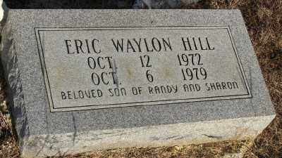 HILL, ERIC WAYLON - Ashley County, Arkansas | ERIC WAYLON HILL - Arkansas Gravestone Photos