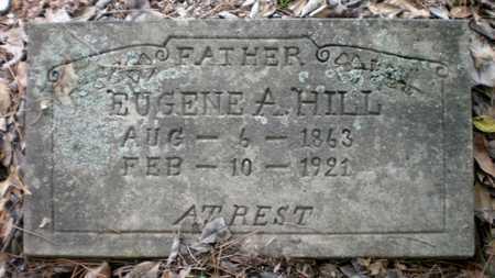 HILL, EUGENE A - Ashley County, Arkansas | EUGENE A HILL - Arkansas Gravestone Photos