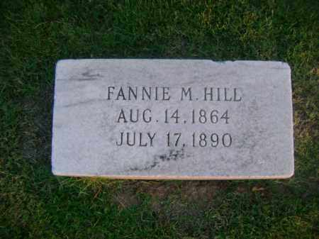 HILL, FANNIE M - Ashley County, Arkansas | FANNIE M HILL - Arkansas Gravestone Photos