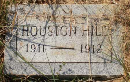 HILL, HOUSTON - Ashley County, Arkansas | HOUSTON HILL - Arkansas Gravestone Photos