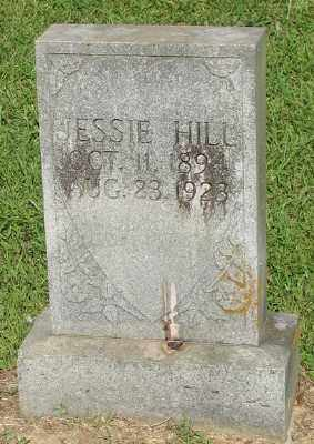 HILL, JESSIE - Ashley County, Arkansas | JESSIE HILL - Arkansas Gravestone Photos