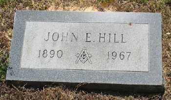 HILL, JOHN E. - Ashley County, Arkansas | JOHN E. HILL - Arkansas Gravestone Photos