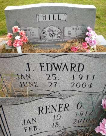 HILL, J EDWARD - Ashley County, Arkansas | J EDWARD HILL - Arkansas Gravestone Photos