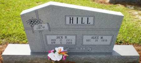 "HILL, JACK HENRY ""J"" - Ashley County, Arkansas   JACK HENRY ""J"" HILL - Arkansas Gravestone Photos"