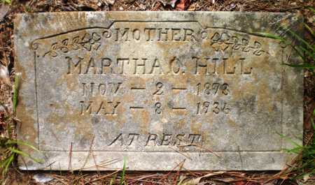 HILL, MARTHA O - Ashley County, Arkansas | MARTHA O HILL - Arkansas Gravestone Photos