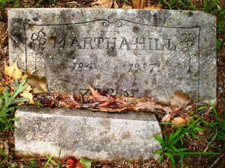 HILL, MARTHA - Ashley County, Arkansas | MARTHA HILL - Arkansas Gravestone Photos
