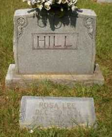 HILL, ROSA LEE - Ashley County, Arkansas | ROSA LEE HILL - Arkansas Gravestone Photos