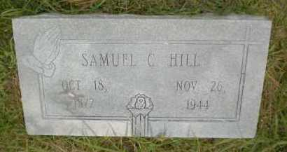 HILL, SAMUEL C - Ashley County, Arkansas | SAMUEL C HILL - Arkansas Gravestone Photos