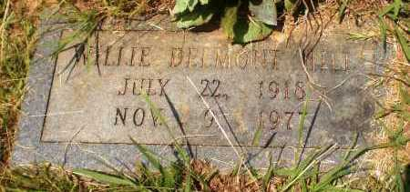 HILL, WILLIE DELMONT - Ashley County, Arkansas | WILLIE DELMONT HILL - Arkansas Gravestone Photos