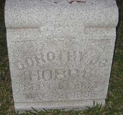 HOBBS, DOROTHY JO - Ashley County, Arkansas | DOROTHY JO HOBBS - Arkansas Gravestone Photos