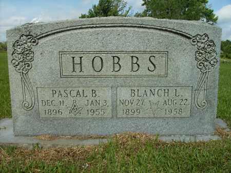 HOBBS, BLANCH L - Ashley County, Arkansas | BLANCH L HOBBS - Arkansas Gravestone Photos