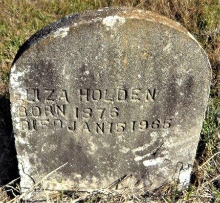 HOLDEN, ELIZA - Ashley County, Arkansas | ELIZA HOLDEN - Arkansas Gravestone Photos