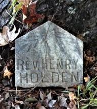 HOLDEN, HENRY, REVEREND - Ashley County, Arkansas | HENRY, REVEREND HOLDEN - Arkansas Gravestone Photos