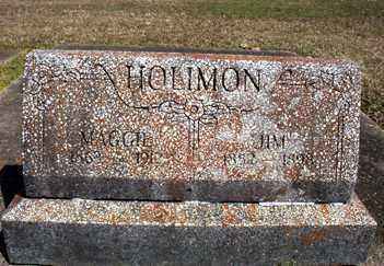 HOLIMON, MAGGIE - Ashley County, Arkansas | MAGGIE HOLIMON - Arkansas Gravestone Photos