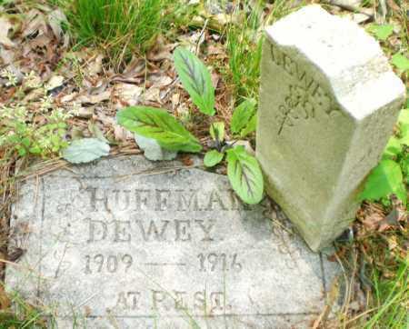 HUFFMAN, DEWEY - Ashley County, Arkansas | DEWEY HUFFMAN - Arkansas Gravestone Photos
