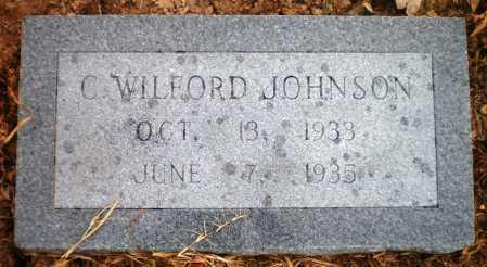 JOHNSON, C WILFORD - Ashley County, Arkansas | C WILFORD JOHNSON - Arkansas Gravestone Photos