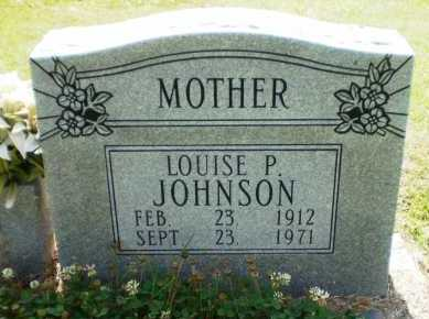 JOHNSON, LOUISE P - Ashley County, Arkansas | LOUISE P JOHNSON - Arkansas Gravestone Photos