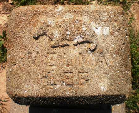 JONES, VELMA LEE (TOP) - Ashley County, Arkansas | VELMA LEE (TOP) JONES - Arkansas Gravestone Photos