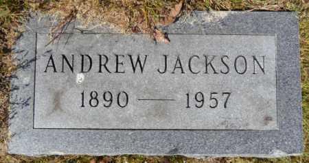 JACKSON, ANDREW - Ashley County, Arkansas   ANDREW JACKSON - Arkansas Gravestone Photos
