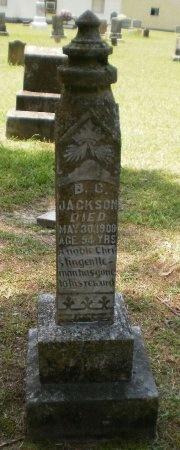 JACKSON, B. C. - Ashley County, Arkansas | B. C. JACKSON - Arkansas Gravestone Photos