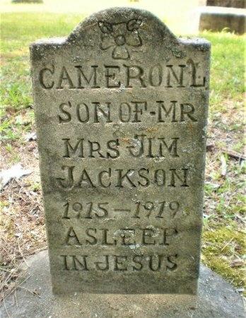 JACKSON, CAMERON L. - Ashley County, Arkansas | CAMERON L. JACKSON - Arkansas Gravestone Photos