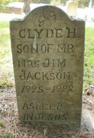 JACKSON, CLYDE H. - Ashley County, Arkansas   CLYDE H. JACKSON - Arkansas Gravestone Photos