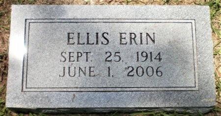 JACKSON, ELLIS ERIN - Ashley County, Arkansas | ELLIS ERIN JACKSON - Arkansas Gravestone Photos