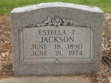 JACKSON, ESTELLA T - Ashley County, Arkansas   ESTELLA T JACKSON - Arkansas Gravestone Photos