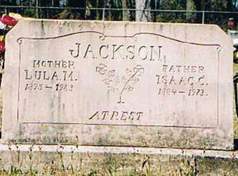 JACKSON, ISAAC C. - Ashley County, Arkansas | ISAAC C. JACKSON - Arkansas Gravestone Photos