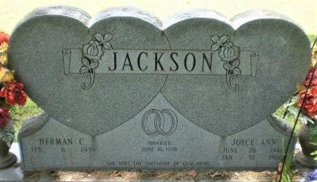 JACKSON, JOYCE ANN - Ashley County, Arkansas | JOYCE ANN JACKSON - Arkansas Gravestone Photos