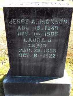 JACKSON, JESSE A - Ashley County, Arkansas   JESSE A JACKSON - Arkansas Gravestone Photos