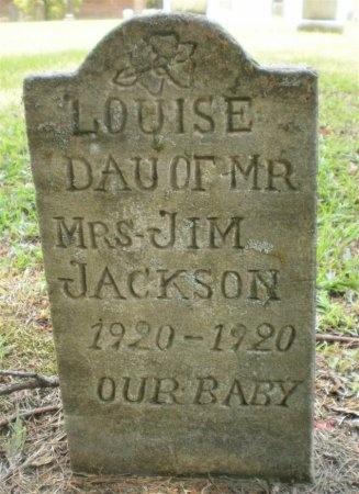 JACKSON, LOUISE - Ashley County, Arkansas   LOUISE JACKSON - Arkansas Gravestone Photos
