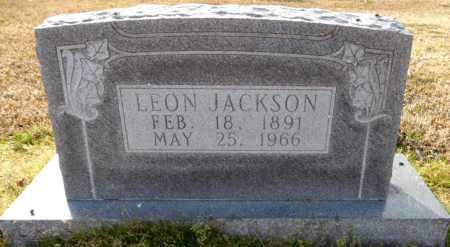 JACKSON, LEON - Ashley County, Arkansas | LEON JACKSON - Arkansas Gravestone Photos