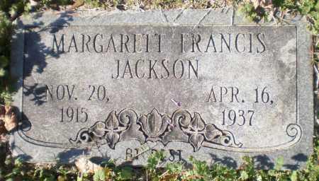 JACKSON, MARGARETT FRANCIS - Ashley County, Arkansas   MARGARETT FRANCIS JACKSON - Arkansas Gravestone Photos