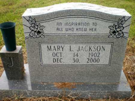 JACKSON, MARY L - Ashley County, Arkansas | MARY L JACKSON - Arkansas Gravestone Photos