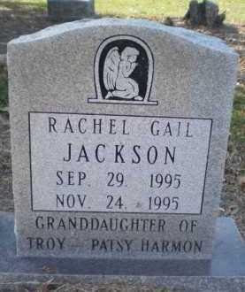 JACKSON, RACHEL GAIL - Ashley County, Arkansas   RACHEL GAIL JACKSON - Arkansas Gravestone Photos