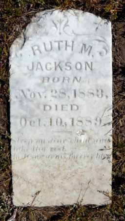 JACKSON, RUTH M - Ashley County, Arkansas   RUTH M JACKSON - Arkansas Gravestone Photos