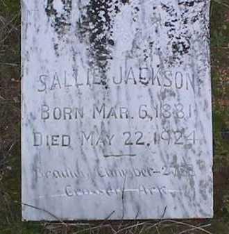 JACKSON, SALLIE - Ashley County, Arkansas | SALLIE JACKSON - Arkansas Gravestone Photos