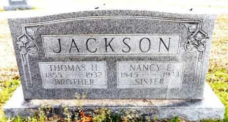 JACKSON, THOMAS H - Ashley County, Arkansas   THOMAS H JACKSON - Arkansas Gravestone Photos