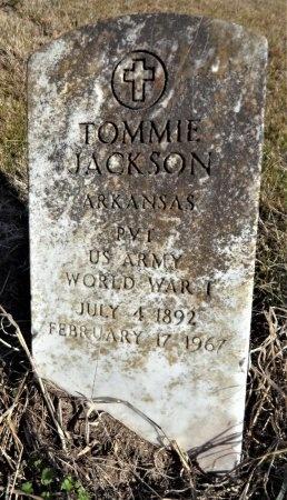 JACKSON (VETERAN WWI), TOMMIE - Ashley County, Arkansas | TOMMIE JACKSON (VETERAN WWI) - Arkansas Gravestone Photos