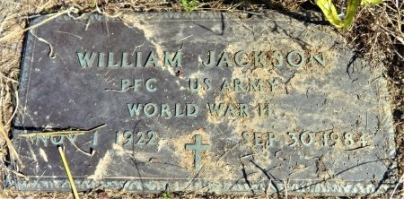JACKSON (VETERAN WWII), WILLIAM - Ashley County, Arkansas | WILLIAM JACKSON (VETERAN WWII) - Arkansas Gravestone Photos