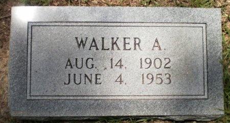 JACKSON, WALKER A. - Ashley County, Arkansas | WALKER A. JACKSON - Arkansas Gravestone Photos