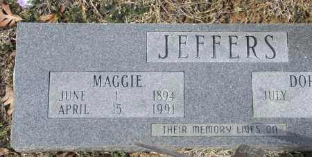 JEFFERS, MAGGIE - Ashley County, Arkansas | MAGGIE JEFFERS - Arkansas Gravestone Photos