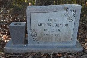 JOHNSON, ARTHUR - Ashley County, Arkansas | ARTHUR JOHNSON - Arkansas Gravestone Photos