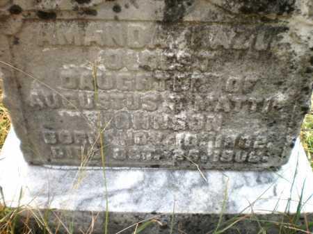 JOHNSON, AMANDA HAZEL - Ashley County, Arkansas | AMANDA HAZEL JOHNSON - Arkansas Gravestone Photos