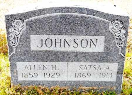 JOHNSON, SATSA - Ashley County, Arkansas | SATSA JOHNSON - Arkansas Gravestone Photos