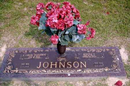 JOHNSON, L. LAVADA - Ashley County, Arkansas   L. LAVADA JOHNSON - Arkansas Gravestone Photos