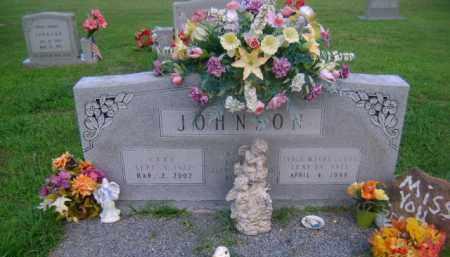 JOHNSON, SYBLE FLOYD - Ashley County, Arkansas | SYBLE FLOYD JOHNSON - Arkansas Gravestone Photos