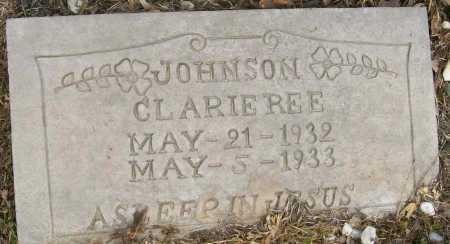 JOHNSON, CLARIE LEE - Ashley County, Arkansas   CLARIE LEE JOHNSON - Arkansas Gravestone Photos
